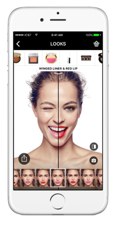 Sephora virtual artist iPhone App